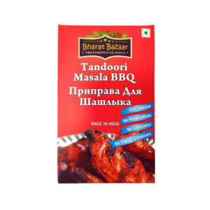 """Приправа универсальная """"Тандури масала"""" в коробке (Tandoori Masala) 100 г, Bharat Bazaar"""