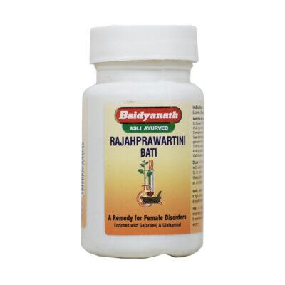 Раджаправартини Бати (80 таб), Rajahpravartini Bati, произв. Baidyanath