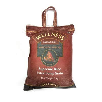 Рис басмати Supreme 5 кг, Wellness