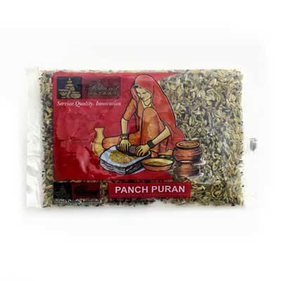 """Смесь целых специй универсальная """"Панч пурен"""" (Panch Puran) 100 г, Bharat Bazaar"""