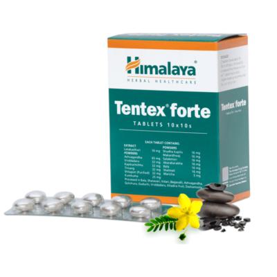 Тентекс Форте: для мужского здоровья (100 таб), Tentex Forte, произв. Himalaya