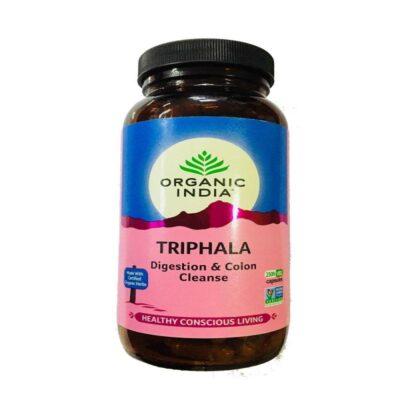 Трифала: для очищения организма (250 кап, 480 мг), Triphala, произв. Organic India