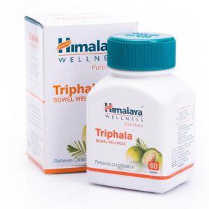 Трифала: очищение организма (250 мг, 60 таб), Triphala, произв. Himalaya