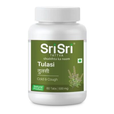 Туласи: от простуды и гриппа (60 таб, 500 мг), Tulasi, произв. Sri Sri Tattva