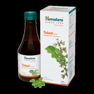 Туласи: сироп от гриппа и простуды (200 мл), Wellness Tulasi Syrup, произв. Himalaya