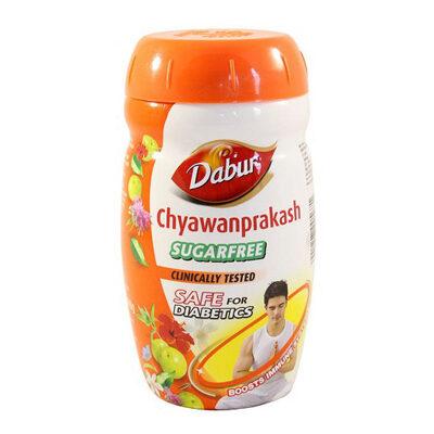 ЧаванПракаш без сахара (Chyawanprakash) 900 г, Dabur