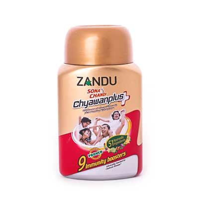 """Чаванпраш""""Сона Чанди""""(Sona Chandi Chyawanplus), Zandu"""