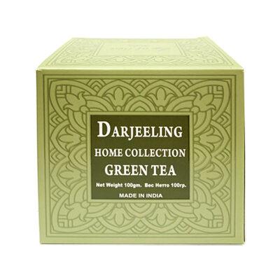 Чай индийский зелёный Darjeeling Green Tea 100 г, Bharat Bazaar