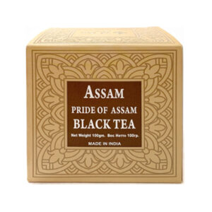 Чай индийский чёрный крупнолистовой Assam Pride Black Tea 100 г, Bharat Bazaar
