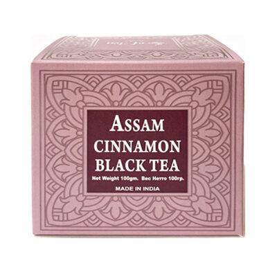 Чай индийский чёрный с корицей Assam Cinnamon Black Tea 100 г, Bharat Bazaar