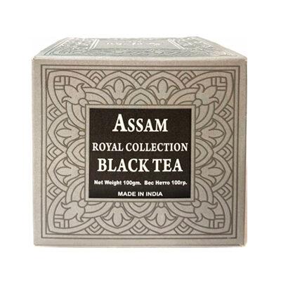 Чай индийский чёрный Assam Royal Collection Black Tea 100 г, Bharat Bazaar