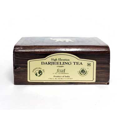 Чай индийский чёрный Darjeeling в деревянной коробке 50 г, Bharat Bazaar