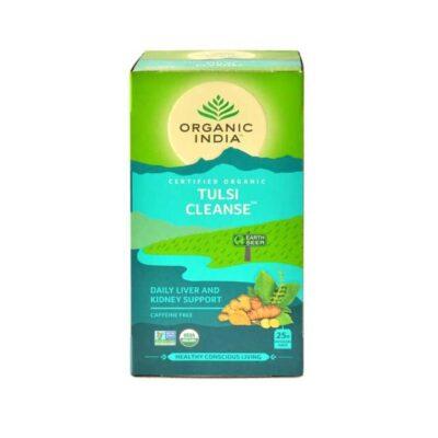 Чай с Тулси: для очищения организма (25 пак, 1.6 г), Tulsi Cleanse, произв. Organic India
