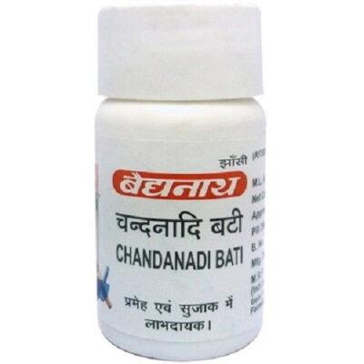 Чанданади Бати: для мочеполовой системы (40 таб), Chandanadi Bati, произв. Baidyanath