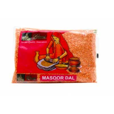 Чечевица красная (Masoor Dal) 500 г, Bharat Bazaar