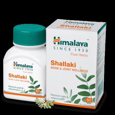 Шаллаки: для здоровья суставов и костей (60 таб,125 мг), Shallaki, произв. Himalaya