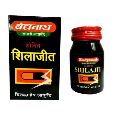 Шиладжит: для укрепления здоровья (30 кап), Shilajeet, произв. Baidyanath