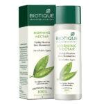 BIO MORNING NECTAR Visibly Flawless Skin Moisturizer, Biotique (УТРЕННИЙ НЕКТАР Увлажняющий лосьон для лица и тела, для всех типов кожи, Биотик), 120 мл.