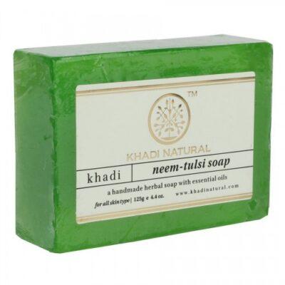 НИМ ТУЛСИ, Кхади TULSI Handmade Herbal Soap, Khadi Natural