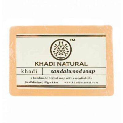 """SANDALWOOD Soap Khadi (Сандаловое Дерево"""" Кхади), 125 г."""