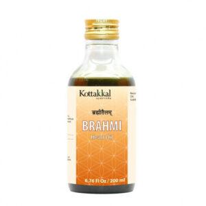 Брахми: масло от головной боли (200 мл), Brahmi Head Oil, произв. Kottakkal Ayurveda