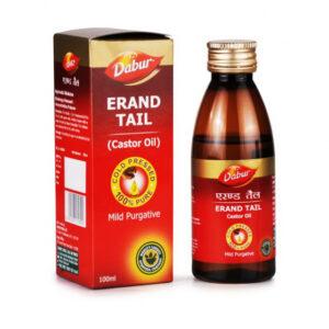 Касторовое масло: слабительное (100 мл), Castor Oil, произв. Dabur