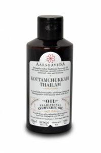 Коттамчуккади Тайлам: масло для опорно-двигательной системы (150 мл), Kottamchukkadi Thailam, произв. Aarshaveda