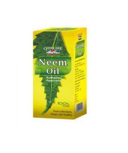 Масло Ним: от кожных заболеваний (50 мл), Neem Oil, произв. GoodCare