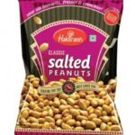 Арахис соленый (200 г), Salted Peanuts, произв. Haldirams