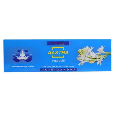 Ароматические палочки Aastha: Тубероза (75 г), Aroma Aastha, произв. Patanjali