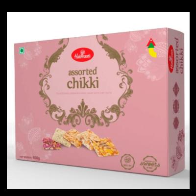 Ассорти из индийских казинаков (400 г) Assorted Chikki Mix Box, произв. Haldirams
