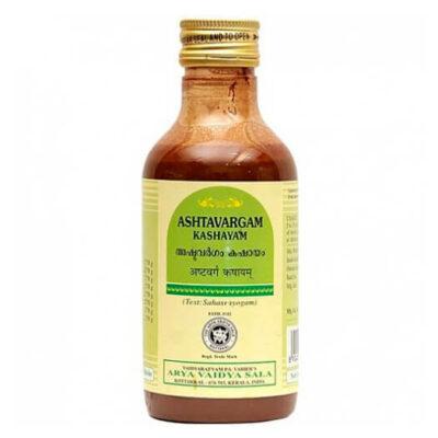 Аштаваргам Кашаям: для лечения заболеваний нервной системы (200 мл), Ashtavargam Kashayam, произв. Kottakkal Ayurveda