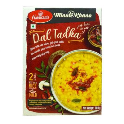 Готовое блюдо (Желтая чечевица с луком и зеленым перцем чили) (300 г), Dal Tadka, произв. Haldirams