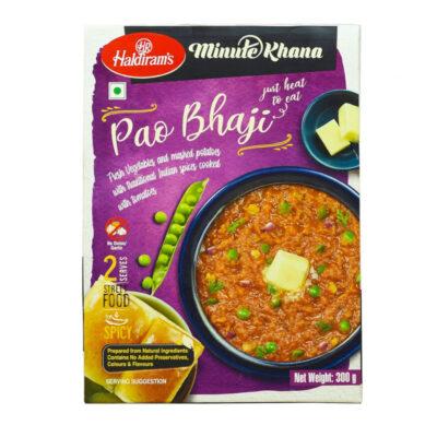 Готовое блюдо (Картофельное пюре с овощами) (300 г), Pao Bhaji, произв. Haldirams