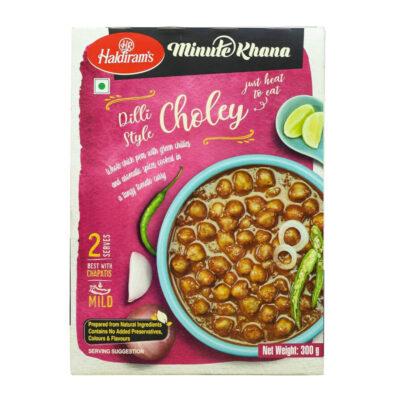 Готовое блюдо (Нут с зеленым перецем чили) (300 г), Choley, произв. Haldirams