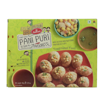 Готовое блюдо Pani Puri (Пани Пури) (360 г), произв. Haldirams