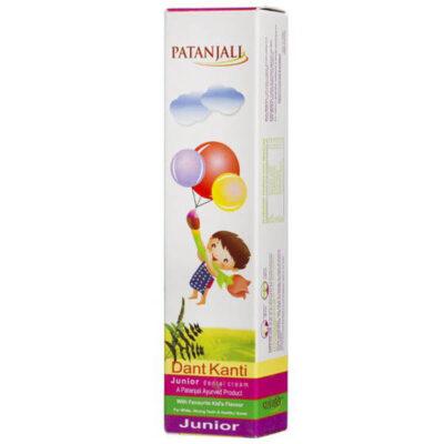 Дент Канти Джуниор: детская зубная паста (100 г), Dant Kanti Junior Dental Cream, произв. Patanjali