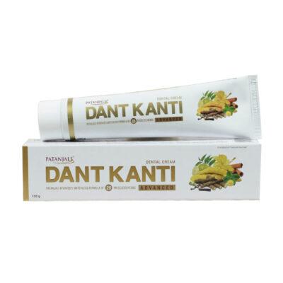 Зубная паста Дант Канти Эдвансед (100 г), Dant Kanti Advanced Toothpaste, произв. Patanjali