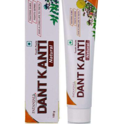Зубная паста Дант Канти, (20 г), Dant Kanti Toothpaste, произв. Patanjali