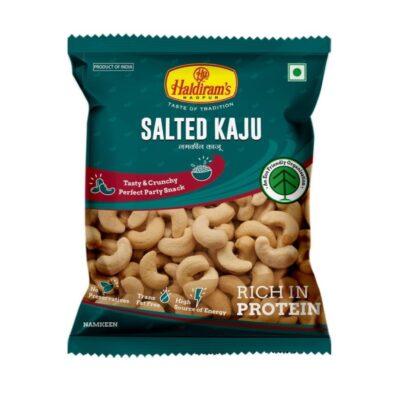 Кешью Соленый (40 г), Salted Kaju, произв. Haldirams