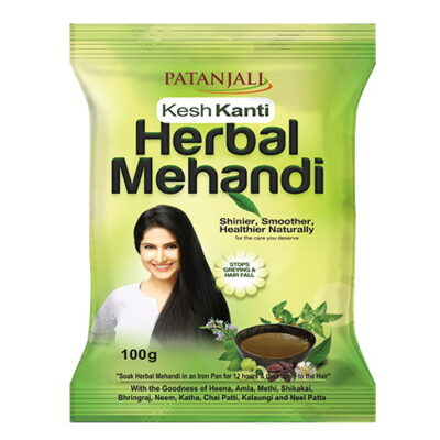 Кеш Канти: натуральная хна (100 г), Kesh Kanti Herbal Mehandi, произв. Patanjali