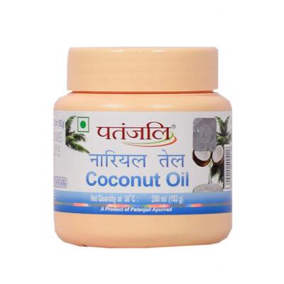 Кокосовое масло (200 мл), Coconut Oil, произв. Patanjali