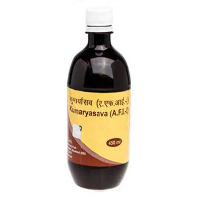 Кумарьясава: для пищеварения (450 мл), Kumaryasava, произв. Patanjali