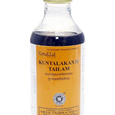 Кунталаканти Тайлам: для ухода за волосами (200 мл), Kuntalakanti Tailam, произв. Kottakkal Ayurveda