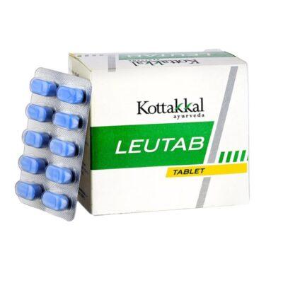 Леутаб: для лечения лейкореи (100 таб), Leutab, произв. Kottakkal Ayurveda