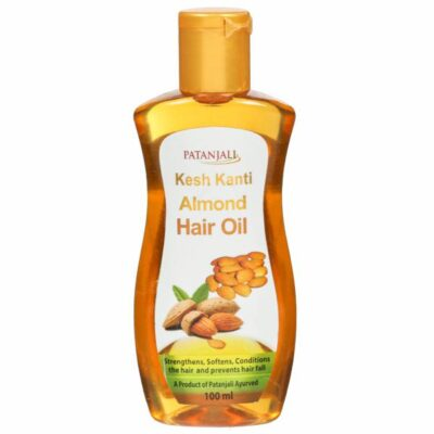 Масло для волос с экстрактом Миндаля (100 мл), Almond Hair Oil, произв. Patanjali