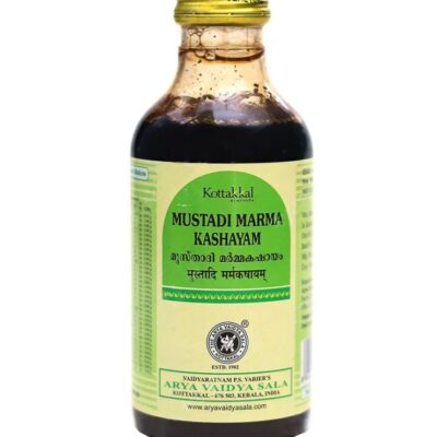 Мустади Марма Кашаям: для опорно-двигательной системы (200 мл), Mustadi Marma Kashayam, произв. Kottakkal Ayurveda