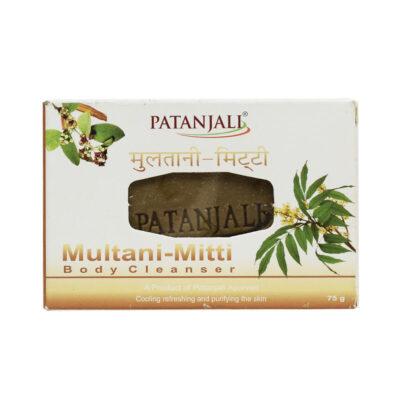 Мыло на основе лечебной глины (75 г), Multani-Mitti Body Cleanser, произв. Patanjali