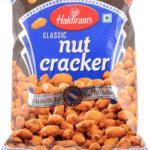 Нат крекер: хрустящий арахис в нутовой муке (200 г), Nut Cracker, произв. Haldirams