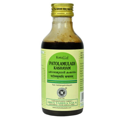 Патоламулади Кашаям: противовоспалительное (200 мл), Patolamuladi Kashayam, произв. Kottakkal Ayurveda